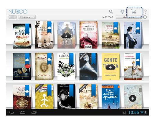 añadir nuevo título a tu biblioteca de Nubico Premium