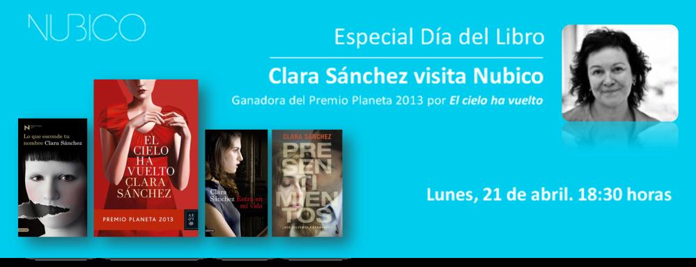 encuentro digital Clara Sánchez