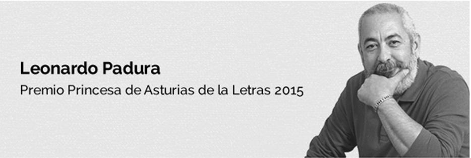 Leonardo PAdura-premio